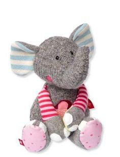 Sigikid Sweety Patchwork Flower Elephant- 38709