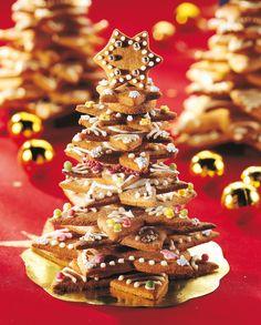 Pipareista rakennettu joulukuusi | K-ruoka #joulu #piparit #piparkakut