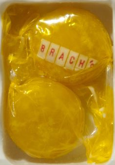 Brach's Butterscotch Discs...every elderly lady I visited in my childhood had a dish of these in her living room