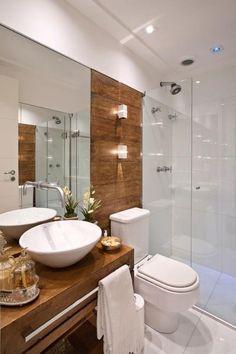 + 10 banheiros e lavabos para você se inspirar