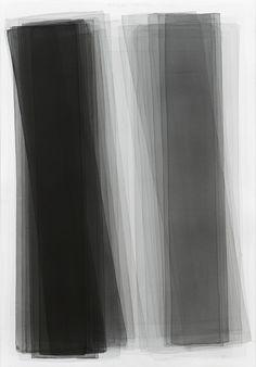 Joachim Bandau Black watercolor 2015 Thomas...