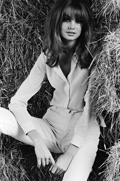 Jean Shrimpton par Terry O'Neill, 1970.