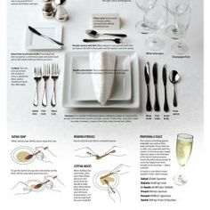 The holiday season is around the corner, so let's start new traditions by following the old traditions. Here are some basic rules of etiquette at a fo