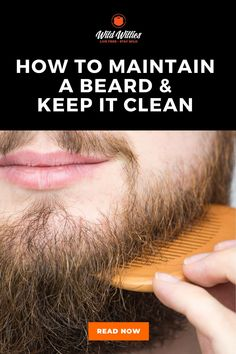 You need to know how to keep your beard healthy and how to keep it looking fresh. After all it's not a huge leap from 'man with impressive beard' to 'grizzly forest man'. Once you have mastered beard styling, you need to master beard maintenance – and keeping your beard looking smart and stylish is no mean feat. Here's everything you need to know about how to maintain a clean beard. Vitamins For Beard Growth, Beard Maintenance, Best Beard Oil, Natural Beard Oil, Beard Tips, Beard Look, Beard Grooming, Beard Tattoo, Beard No Mustache