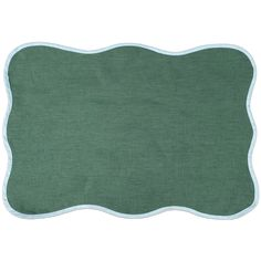 Scalloped Linen Placemats, Set of 4 – Biscuit Home