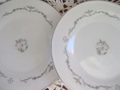 Petite Bouquet China Bread Plates Signature Petite by ChinaGalore, $9.00