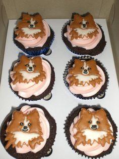pomeranian cupcakes