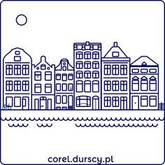 Amsterdam 3/3 #3 #corel_durscy_pl #durskirysuje #corel #coreldraw #vector #vectorart #illustration #draw #art #digitalart #graphics #flatdesign #flatdesign #icon #dom #domek #apartament #home #house #residence #apartments #amsterdam #holandia #holland #tryptyk #triptych Triptych, Coreldraw, Flat Design, Vector Art, Apartments, Holland, Amsterdam, Applique, Digital Art