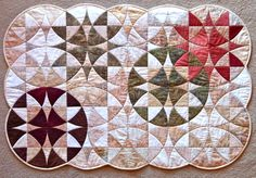 Winding Ways Wall quilt de Candace Door