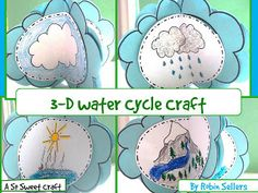 108 best preschool rain clouds water cycle images on pinterest