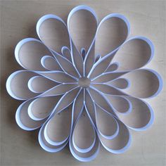 """Modern """"Paper Quilling""""... very pretty!"""