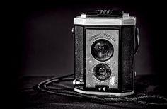 The old Brownie camera by Eastman Kodak Company.  Photo by Scott Norris.