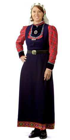 Traditional Norwegian folk costumes - Page 5 Norwegian Clothing, Folk Costume, Costumes For Women, Traditional Dresses, Norway, High Neck Dress, Culture, Womens Fashion, Folklore