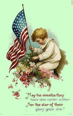 Vintage Americana Post Card