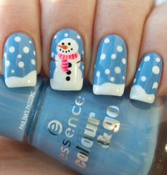 Awesome Holiday Nail Designs for Short Nails 22 Easy Nail Art Designs for Short Nails Christmas Nail Art Designs, Holiday Nail Art, Winter Nail Designs, Winter Nail Art, Nail Polish Designs, Cute Nail Designs, Winter Nails, Nails Design, Christmas Decorations
