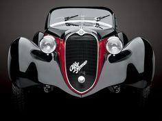 1939 Alfa Romeo 6C 2500SS Corsa Barchetta. Simply put... WOW!