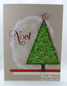 Snowy Noel by discoverstampin - Cards and Paper Crafts at Splitcoaststampers