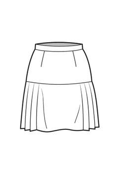 117 Best Technical fashion drawings skirts images