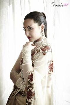 Sonakshi Sinha Saree Photoshoot