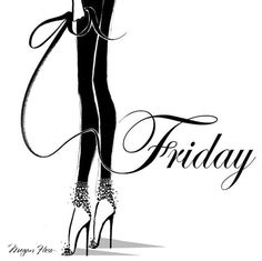 Keep your heels and your standards high my dear... Happy friday loves! ❤