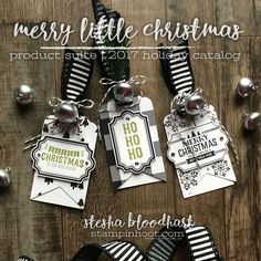 Welcome to the Remarkable InkBig Blog Hop - November 2017! This month's theme is Holiday Tags and I have tons to share! Merry Little Christmas!