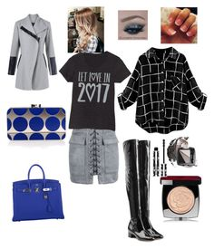 """""""Untitled #13"""" by sugarhionplatforms-hollyhud on Polyvore featuring Valentino, WithChic, Manolo Blahnik, Hermès, Avon, Chanel and Givenchy"""