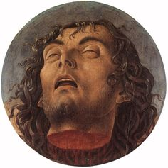 Head of Saint John the Baptist by Giovanni Bellini