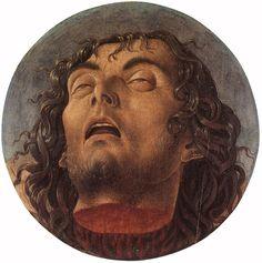 Head of Saint John the Baptist by Giovanni Bellini