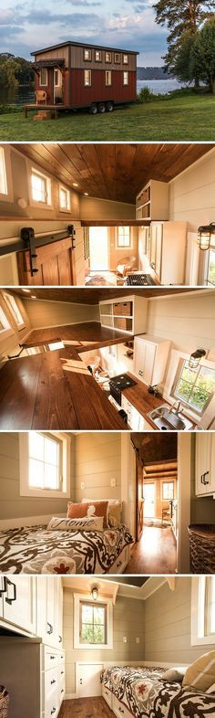 The Boxcar by Timbercraft Tiny Homes (160 sq ft)