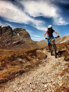 On a sunny day there's nothing better than going Mountain Biking Mtbspot.com
