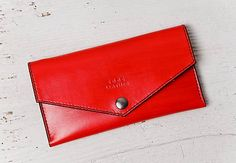 5005leather / Poppy Wallet