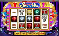 Triple Bonus Spin 'n Win - The goal is to achieve a winning combination of objects along any of 30 paylines. #online #casino #slots #win #138.com