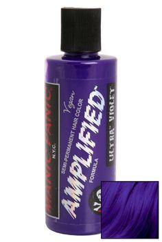 Semi-permanent hair color that lasts 30% longer! This jar features ultra violet dye that is black light reactive. 4 fl. oz.