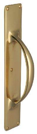 M.Marcus Heritage V1155 Brass Pull Handle on Plate 303x53mm Polished brass pull handle on plate. Overall size of plate measures 303x53x4mm. The handle length measures 195mm and projection is 54mm. This solid brass pull handle is part of the Heritage Brass coll http://www.MightGet.com/january-2017-12/m-marcus-heritage-v1155-brass-pull-handle-on-plate-303x53mm.asp