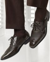 Manhattan Jean Yves Brown Tuxedo Shoes