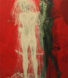 Positivo e Negativo  Acrilico sobre tela - 140 x 120cm Painting, Contemporary Art, Tela, Sculptures, Artists, Painting Art, Paintings, Painted Canvas