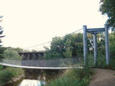 Doghide River Trail in Tisdale, Saskatchewan. River Trail, Brooklyn Bridge, Places To See, Hiking, Travel, Walks, Viajes, Destinations, Traveling