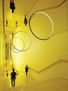 Olafur Eliasson, Gravity stairs. 2014, Leeum Samsung Museum, Seoul.