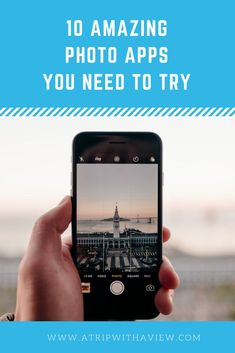 10 Amazing Photo Apps You Should Try - A Trip With A View Travel Usa, Travel Tips, Quad Cities, Unique Hotels, Best Apps, Photography Tutorials, Cool Photos, Travel Photography, Vacation