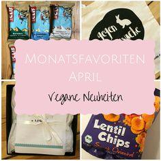 Hier findest du meine veganen Monatsfavoriten für den April.