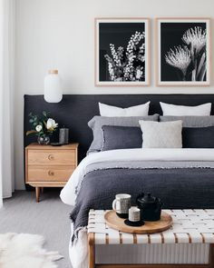 Best Scandinavian Bedroom Interior Design Ideas - Home Design Dream Bedroom, Home Decor Bedroom, Modern Bedroom, Contemporary Bedroom, Bedroom Inspo, Bedroom Wardrobe, Bedroom Curtains, Bedroom Green, Trendy Bedroom