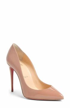 45ab15576ff I want these with the platform Christian Louboutin  Pigalle Follies  Pointy  Toe Pump Christian