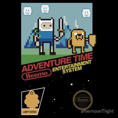 [ Adventure Time – NES T-Shirt ] has just appeared on www.ShirtRater.com! Do you like this shirt? Come and rate it at http://www.shirtrater.com/adventure-time-nes-t-shirt/