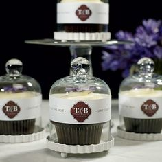 Miniature Glass Bell Jar with White Fluted Base. Might be a cute way to present a fancy dessert on your holiday table. Save 15% off your order from BeauCoup when you use the discount code here: www.couponfinder.com/s/30816/Beau-coup.com-coupons?xtrnl=pinterest