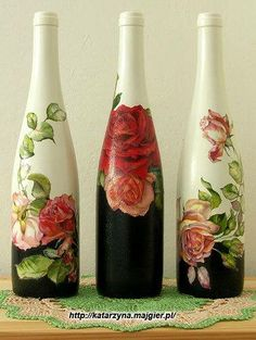Craft ~ Bottle (no directions - website on pic)