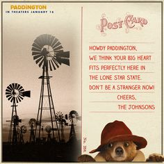 There's much exploration to be done in Texas! Where should Paddington go first? | Paddington