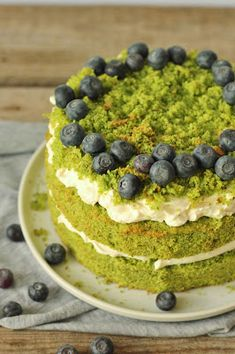 Moss Cake, Arabic Food, Sweet Desserts, Let Them Eat Cake, Soul Food, Cake Recipes, Vanilla, Food And Drink, Sweets
