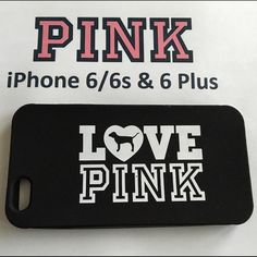 1 iPhone 6/6s or 6+ Love Pink Silicone Phone Cover This listing is for 1 Brand New iPhone 6/6s or 6 Plus Love Pink Silicone Phone Cover. This is a must have for all you Pink Fans! Please leave me a comment with the iPhone you need this Skin for (iPhone 6 or 6 Plus). PINK Victoria's Secret Accessories Phone Cases