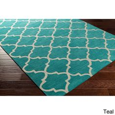 Hand-Tufted Cowes Moroccan Trellis Rug (5' x 7'6)   Overstock.com Shopping - The Best Deals on 5x8 - 6x9 Rugs