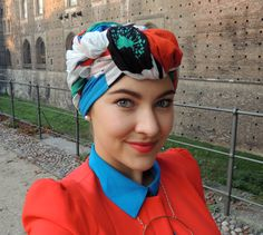 Some of my recent turban variations   October 13   Milano